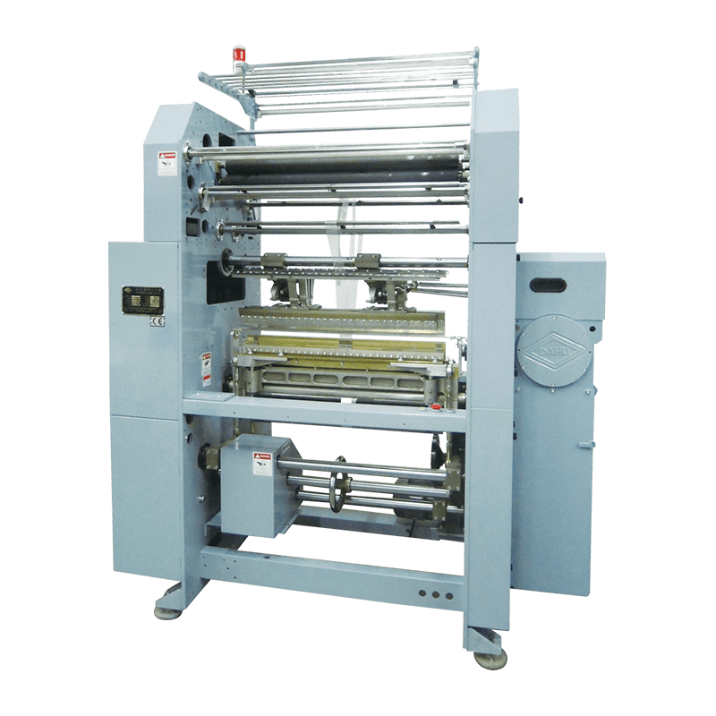 Mechanical Double Needle Bed Warp Knitting Machines DH 760-DNB